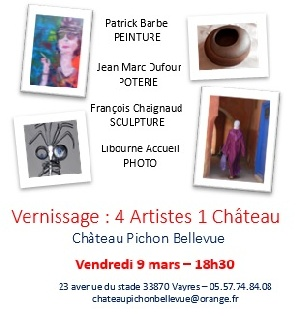 Exposition : 4 Artistes 1 Château