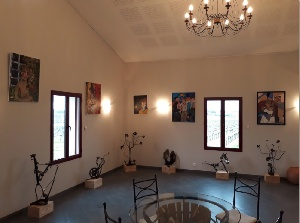 EXPOSITION : 4 ARTISTES 1 CHATEAU