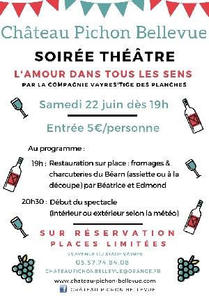 Soirée théâtre - samedi 22 juin